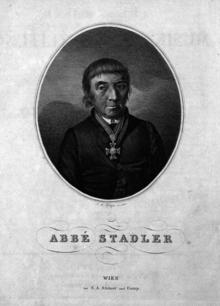 Abbé Stadler (J. B. Pfitzer, 1813) (Quelle: Wikimedia)