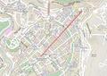Abovyan Street map.png
