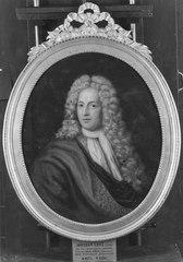 Abraham Grill (1674-1725), köpman, mecenat, gift med 1. Helena Wittmack, 2. Johanna Catharina Groen, 3. Catharina Roselia