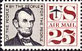 Abraham Lincoln Airmail 1960 Issue-25c.jpg