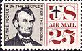 Abraham Lincoln Airmail 1960 Issue-25c.jpg