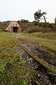 Accès d'une soute à munitions sur le site du Bego, Plouharnel, France.jpg