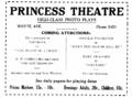Ad Princess Theatre Edmonton 1920.png
