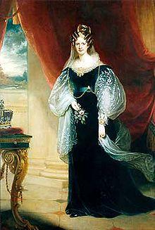Adelheid von Sachsen-Meiningen, Gemälde von Sir William Beechey, etwa 1831 (Quelle: Wikimedia)