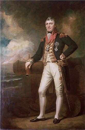 David Milne (Royal Navy officer) - Admiral Sir David Milne (George Frederick Clarke, 1828)