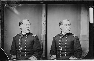 Henry K. Hoff - A double image of Rear Admiral Henry K. Hoff taken by photographer Mathew Brady around the time of the American Civil War (1861-1865)