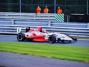 Adriano Buzaid - Buzaid competing during the 2008 Formula Renault UK season at Oulton Park.