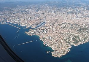 Aerial view of Marseille 04
