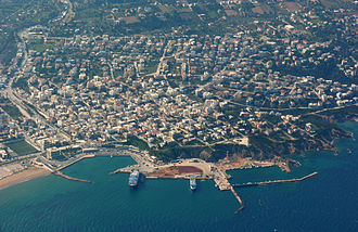Rafina - Aerial view of Rafina Harbour
