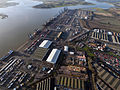 Aerial view of the dock at the Port of Felixstowe.jpg