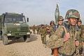 Afghan Unimog-based military ambulance.jpg