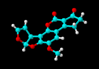 Residue (chemistry) - 3D image of Aflatoxin