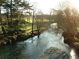 Afon Dwyfor - The Afon Dwyfor as it leaves Cwm Pennant