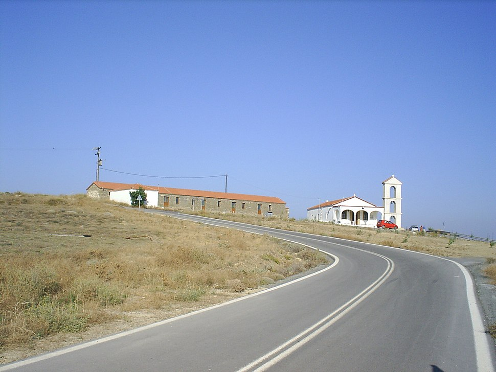 Agios Sozon in Fisini Lemnos