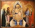 Agnolo gaddi, madonna in trono e santi, 1375, da s.m. novella qa firenze, 01.jpg
