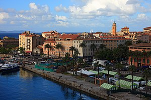 Ajaccio - The center of Ajaccio