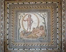 Aion mosaic Glyptothek Munich W504 full