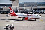 Airberlin Airbus A319-112 - HB-JOY (ZRH) (20924733731).jpg