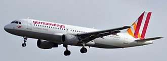 Suicide by pilot - A Germanwings Airbus A320 which a suicidal co-pilot allowed to crash into the Alps on 24 March 2015, killing all 150 people on board