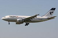 EP-IBK - A310 - Iran Air