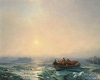 Aivazovsky Ice on Dnipro