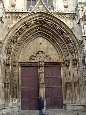 Aix Cathedral - Portal of Aix Cathedral