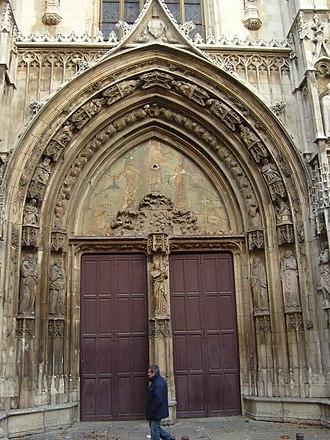 Aix Cathedral - Portal of Aix Cathedral