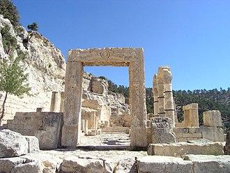 Alahan Monastery - Doorway of the West Church