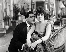 Bara with Alan Roscoe in Camille (1917) Alan Roscoe-Theda Bara in Camille.jpg