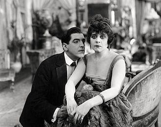 Alan Roscoe - From Camille (1917), Alan Roscoe and Theda Bara