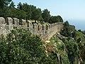Alanya - Festungsberg - Hauptfestung - Wehrmauer - panoramio.jpg