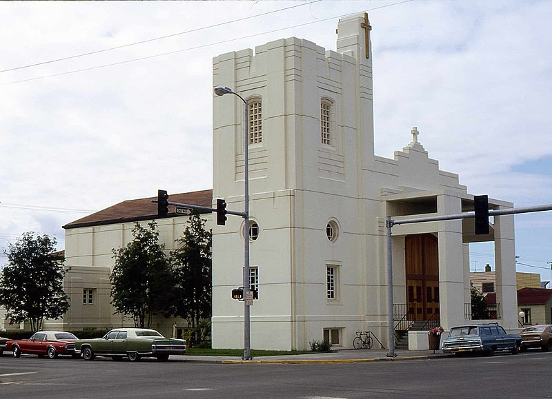 Alaska Anchorage Holy Family Cathedral 1972 01.jpg