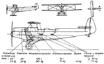 Albatros L 75 drawing Le Document aéronautique November,1928.png