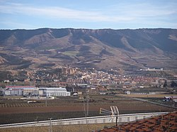 View of Albelda de Iregua (La Rioja, Spain)
