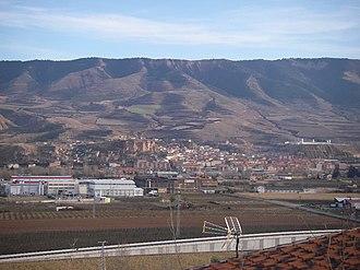 Albelda de Iregua - View of Albelda de Iregua (La Rioja, Spain)