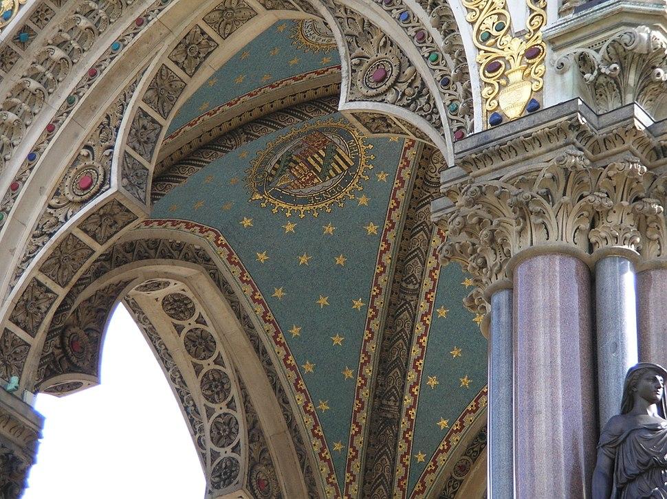 Albert Memorial - Interior Mosaic