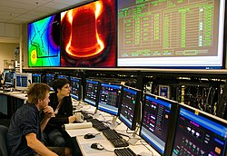 Alcator C-Mod graduate students in control room.jpg
