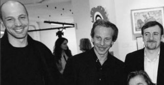 Aldo, Giovanni & Giacomo Trio of Italian comedians and film actors.