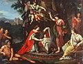 Alegoría del nacimiento del infante Carlos Eusebio, de Zacarías González Velázquez (Real Academia de Bellas Artes de San Fernando).jpg