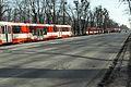 Aleja Zwycięstwa w Gdańsku - awaria tramwaju.JPG