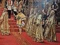 Alexander III and Maria Fedorovna's coronation by G.Becker (1888, Hermitage) detail 03.JPG