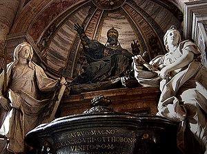 Pope Alexander VIII - Tomb of Alexander VIII, St. Peter's Basilica