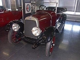 ALFA 20/30 HP - Alfa Romeo 20/30 HP ES
