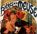 Alfons Mucha - 1897 - Bières de la Meuse (cropped).jpg