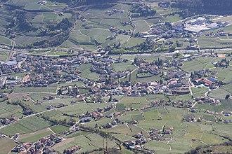 Algund - Image: Algund (Südtirol) von oben