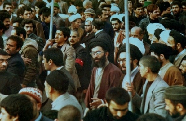 Ali Khamenei in Iranian Revolution protests