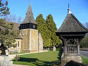 Axel Haig - Church designed by Haig in his adopted village of Grayswood