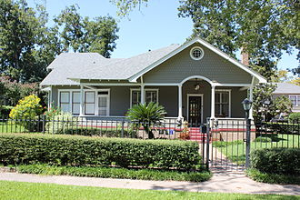 National Register of Historic Places listings in Harris County, Texas - Image: Allbach House