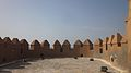 Almenas en semicirculo de las murallas de la Alcazaba de Almería.jpg