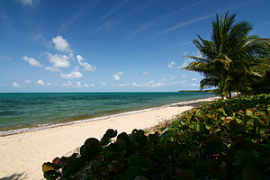 Hopkins Beach, Stann Creek, Belize